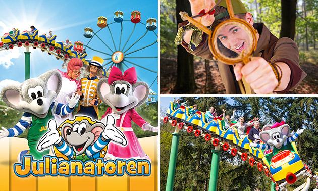 Entree Kinderpretpark Julianatoren + gratis parkeren