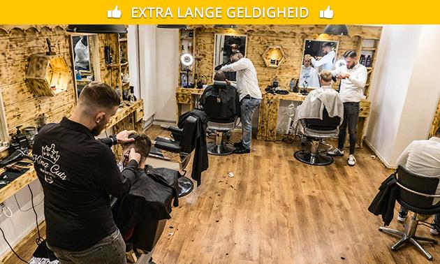 Knippen + evt. baard trimmen in hartje Groningen