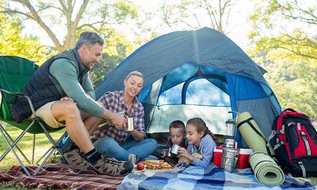 Camping für 1-6 Personen nahe Brügge