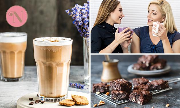 Luxe koffie/thee + gebak bij Konditorei Noor