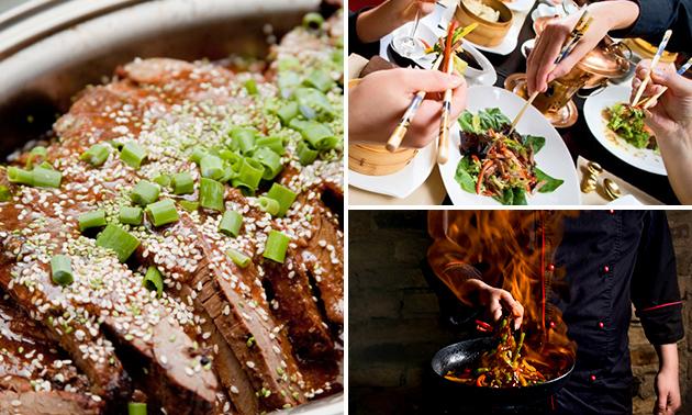 All-You-Can-Eat buffet + soep + dessert bij Kota Radja