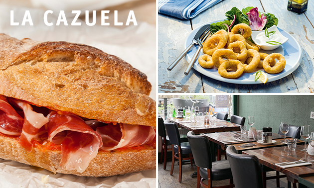 Lunch naar keuze bij La Cazuela in hartje Rotterdam