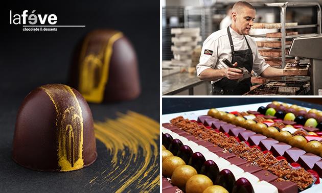Thuisbezorgd: luxe chocoladepakket van La Fève