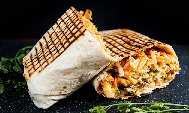 Afhalen: taco naar keuze + friet + salade + frisdrank