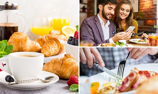 Frühstücksbuffet inklusive Kaffee und Tee