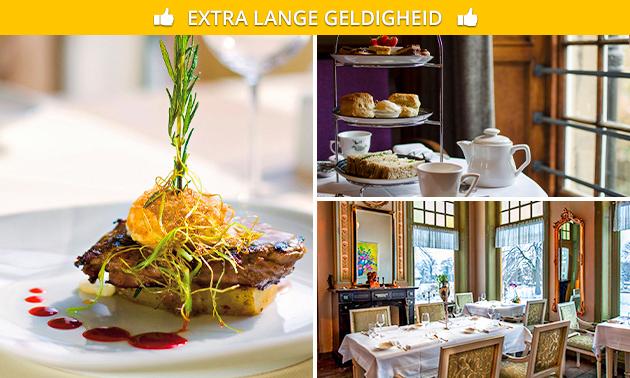 High tea of 3-gangenlunch bij Landgoed Westerlee