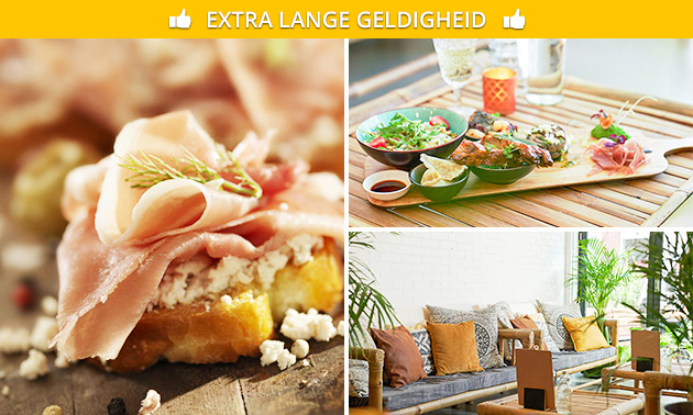 3-gangen shared dining bij Lazy Lemon