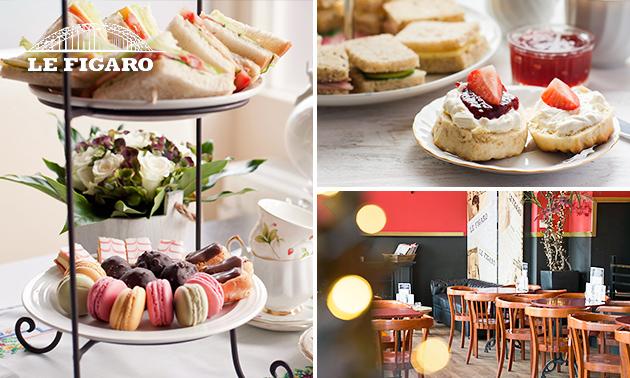High tea bij Le Figaro in hartje Nijmegen