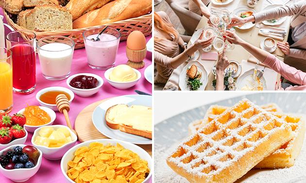 Frühstücksbuffet + Sekt + Crêpe/Waffel
