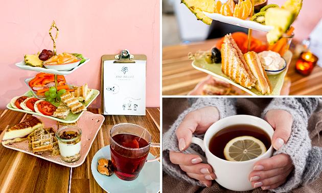 Mittagsbrunch mit unbegrenzt Kaffee und Tee (1,5 Std.)