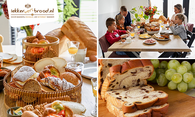 Thuisbezorgd of afhalen: broodpakket