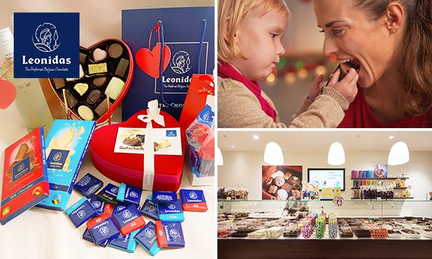 Zum Liefern oder Abholen: Leonidas Muttertagspaket