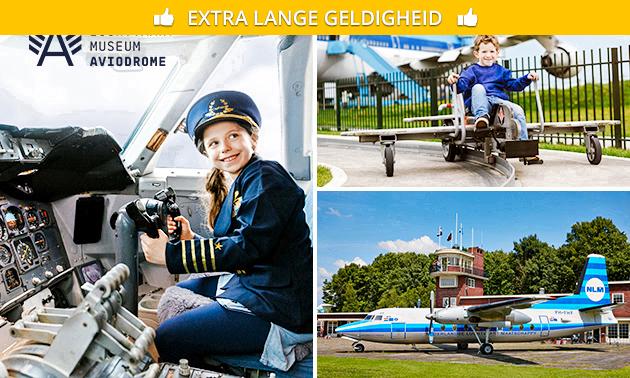 Entree voor Luchtvaartmuseum Aviodrome