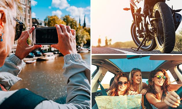 Foto-puzzeltocht (2 à 3 uur) voor auto