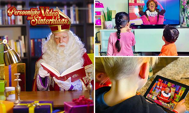 Persoonlijke video van Piet of Sinterklaas