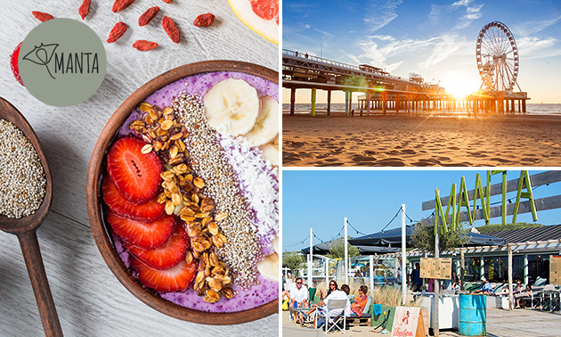 Ontbijt bij Manta Beach