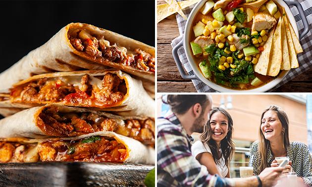 Thuisbezorgd: Mexicaanse lunch of 3-gangen keuzediner
