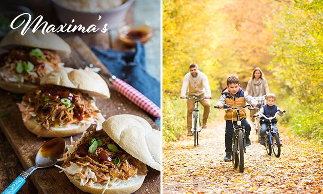 Wandel- of fietsarrangement + take-away lunch van Maxima's