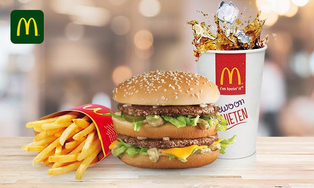 Groot voordeelmenu bij McDonald's