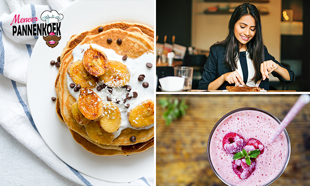 Afhalen in hartje Deventer: pannenkoek + smoothie
