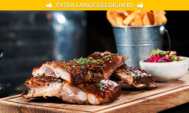 All-You-Can-Eat spareribs of 3-gangendiner