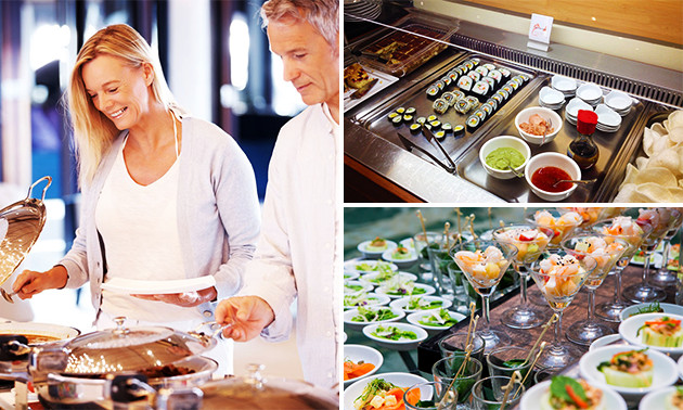 Tsinghe Lounge, All you can eat Mongolisches Buffet: bespaar