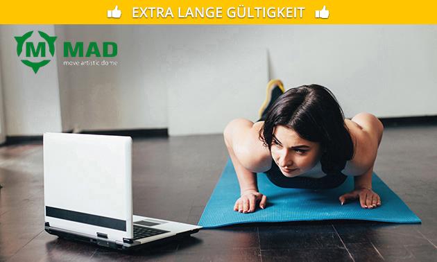 Monatsmitgliedschaft für Online Workouts
