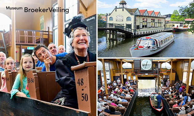 Entree Museum BroekerVeiling + rondvaart