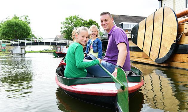 Fluisterboot varen (2 uur) voor 2-5 personen