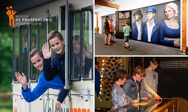 Entree voor Museum De Proefkolonie