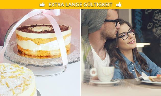 Zum Liefern oder Abholen: Minitorte (6 Stück Kuchen)
