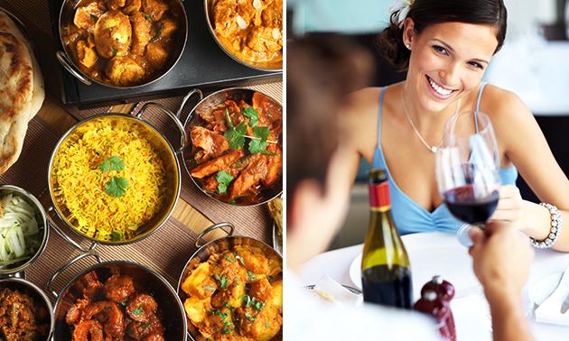 Afhalen: Indiaas diner + frisdrank naar keuze bij Namaskar