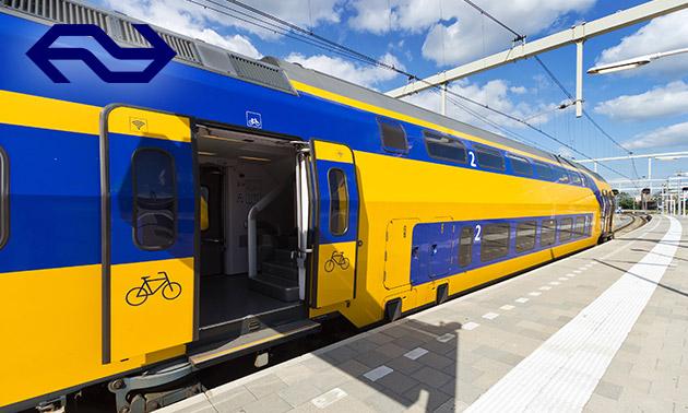 Enkele reis óf 1 dag onbeperkt treinreizen met NS