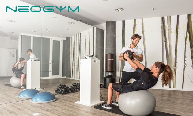 2 oder 4x EMS-Personal Training + Körperanalyse