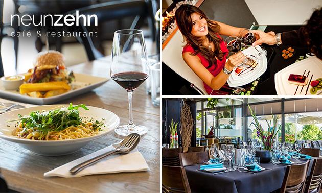 4-Gänge-Menü nach Wahl im Restaurant NeunZehn