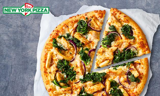 Thuisbezorgd of afhalen: 1 of 10 pizza's van New York Pizza