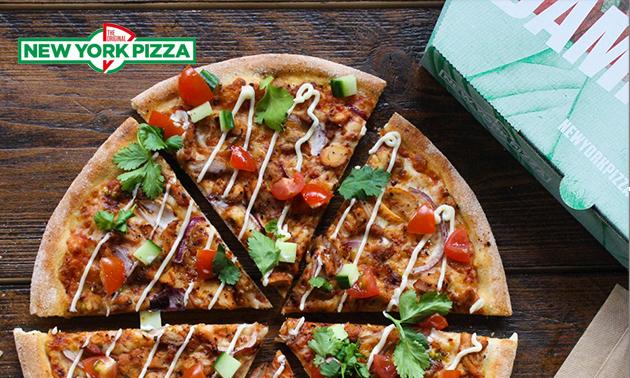 Afhalen: New York Pizza (27 keuzes)