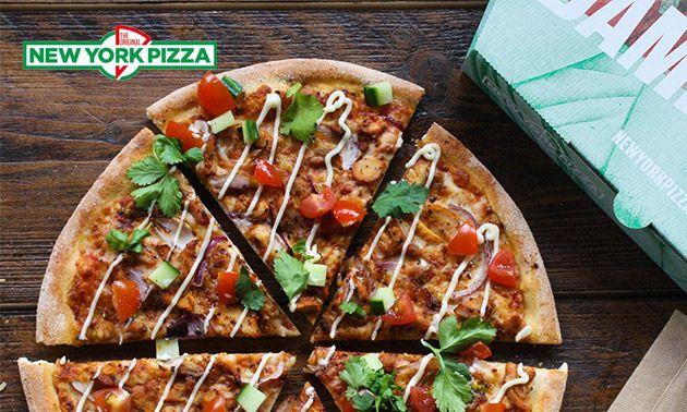 Afhalen: New York Pizza naar keuze