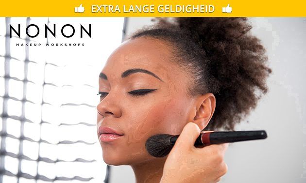 Workshop make-up + prosecco en hapjes