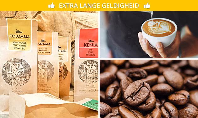 Waardebon voor koffie