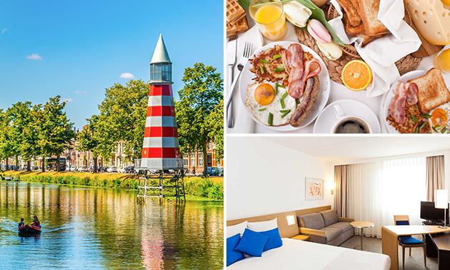 Overnachting voor 2 + ontbijt in Breda