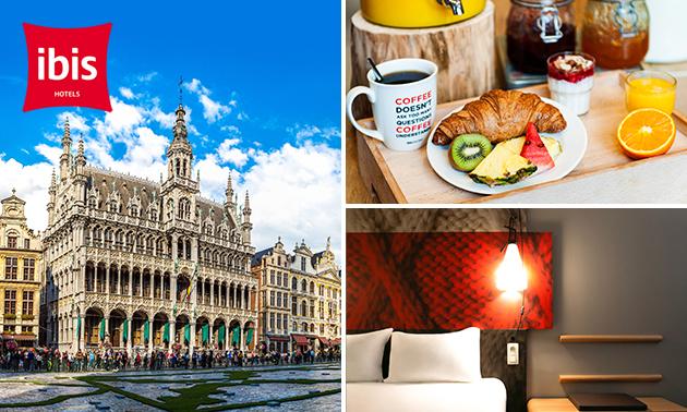 Übernachtung für 2 + Frühstück + Late Check-out in Brüssel