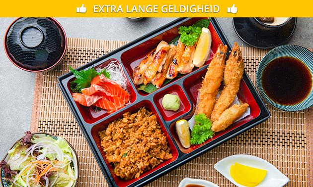 Bentobox-diner bij Oni Japanse Dining