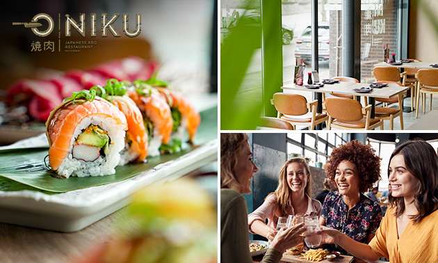 All-You-Can-Eat (2,5 uur) sushi