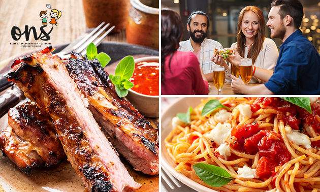 All-You-Can-Eat & Drink bij ONS