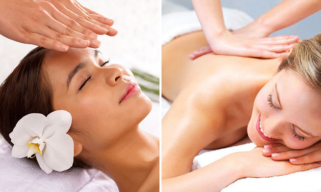 Massage (45 of 60 min) of dagcursus reiki/massage