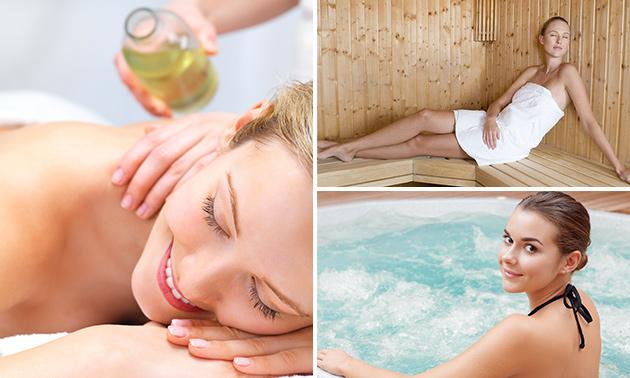 Wellnessmassage + entree Aqua Center
