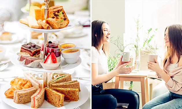 Luxe high tea bij Panneke Nooit Genoeg
