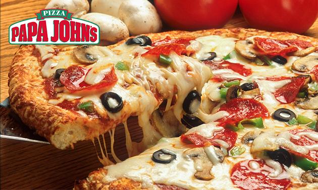 Afhalen: pizza naar keuze bij Papa John's