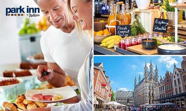 Übernachtung(en) + Frühstück für 2 im Herzen Leuvens